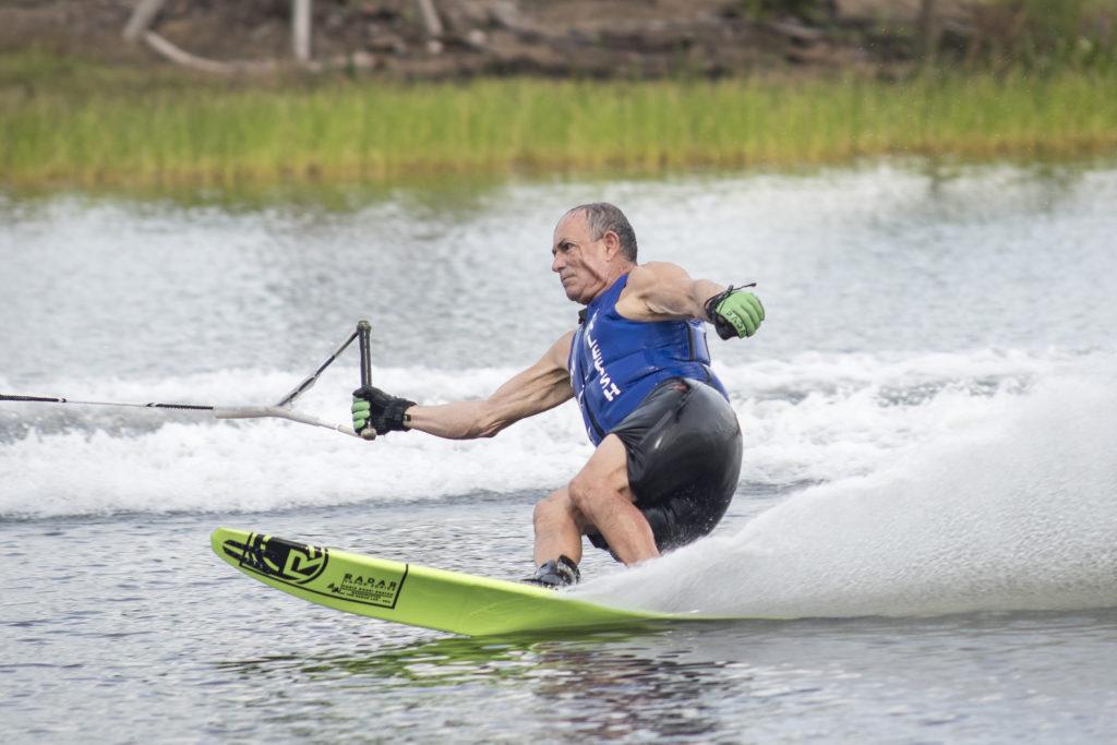 slalom skier